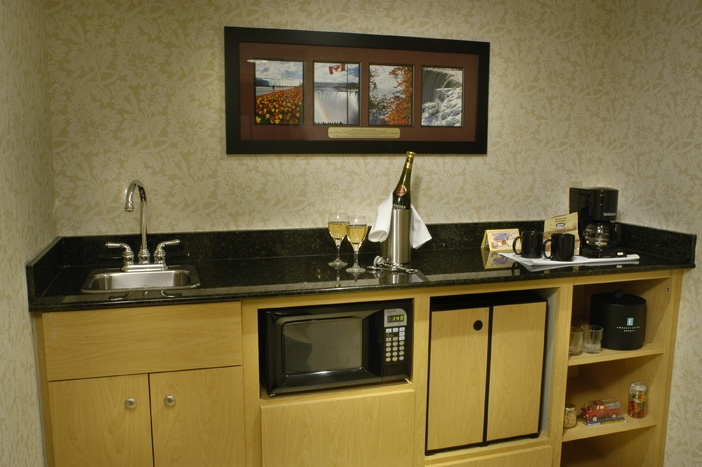 Embassy Suites Kitchenette